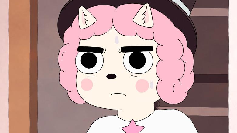 Susie nervous sweating
