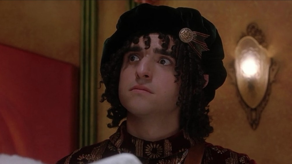 David Krumholz as Bernard the Head Elf in The Santa Clause
