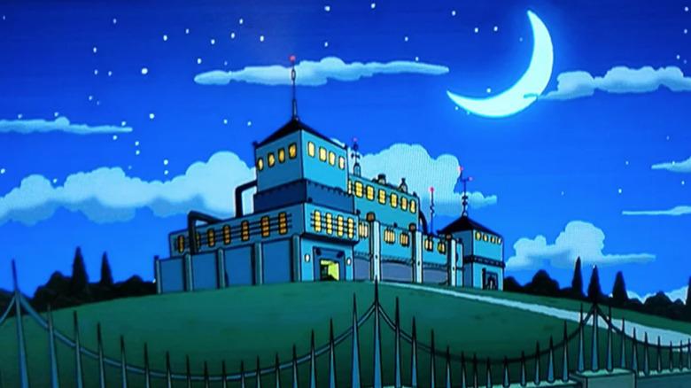 The moon on Futurama