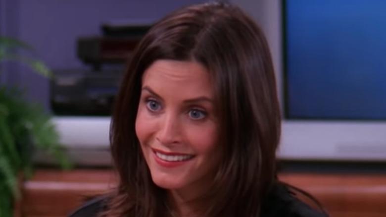 Courteney Cox Monica Geller smiling