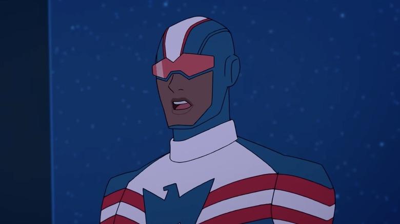 Patriot from Marvel Rising: Initiation