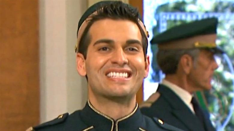 Esteban smiling