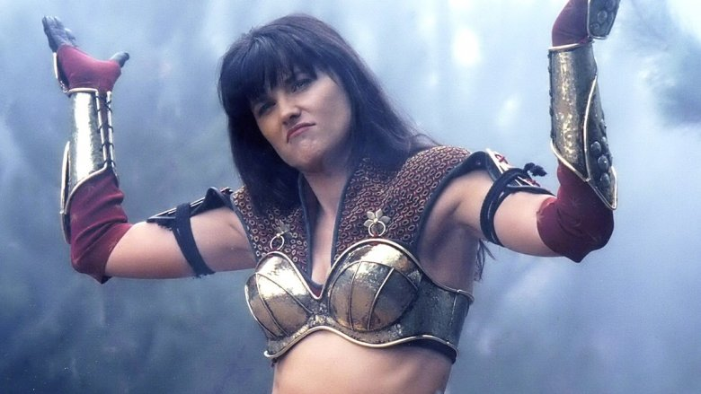 lucy lawless xena shrugging