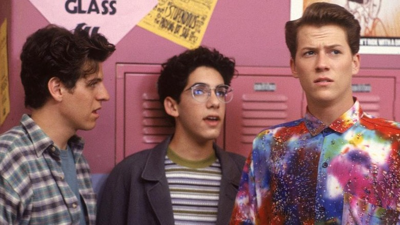 Billy Jayne, Troy Slaten, and Corin Nemec in Parker Lewis Can't Lose