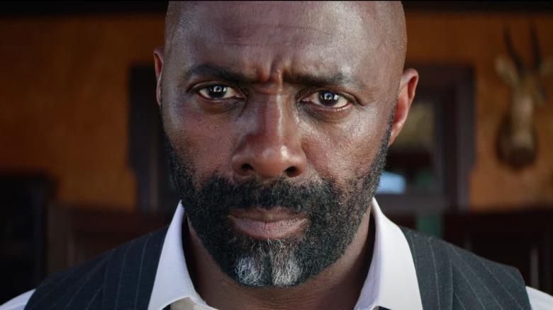 Idris Elba staring menacingly