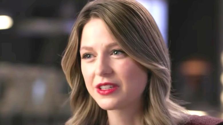 Kara Danvers talking