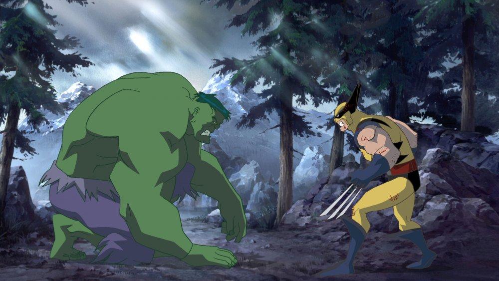 Fred Tatasciore as the Hulk and Steve Blum as Wolverine in Hulk Vs.