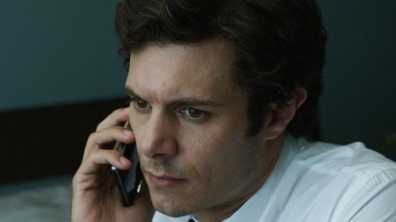 Adam Brody on Phone