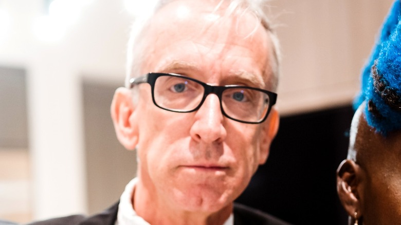 Andy Dick wearing glasses