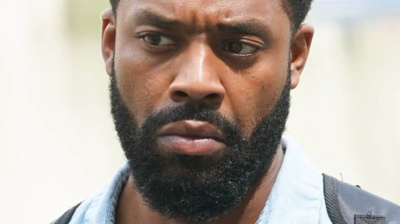 """LaRoyce Hawkins in character on """"Chicago P.D."""""""