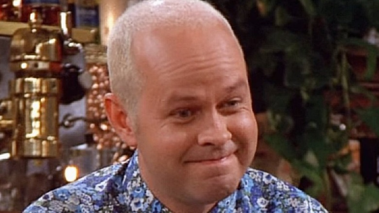 Gunther smiling in Friends