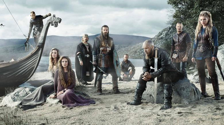 A promo still for Vikings