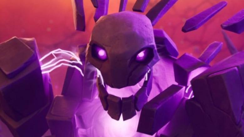 Cube Monster in Fortnite Trailer