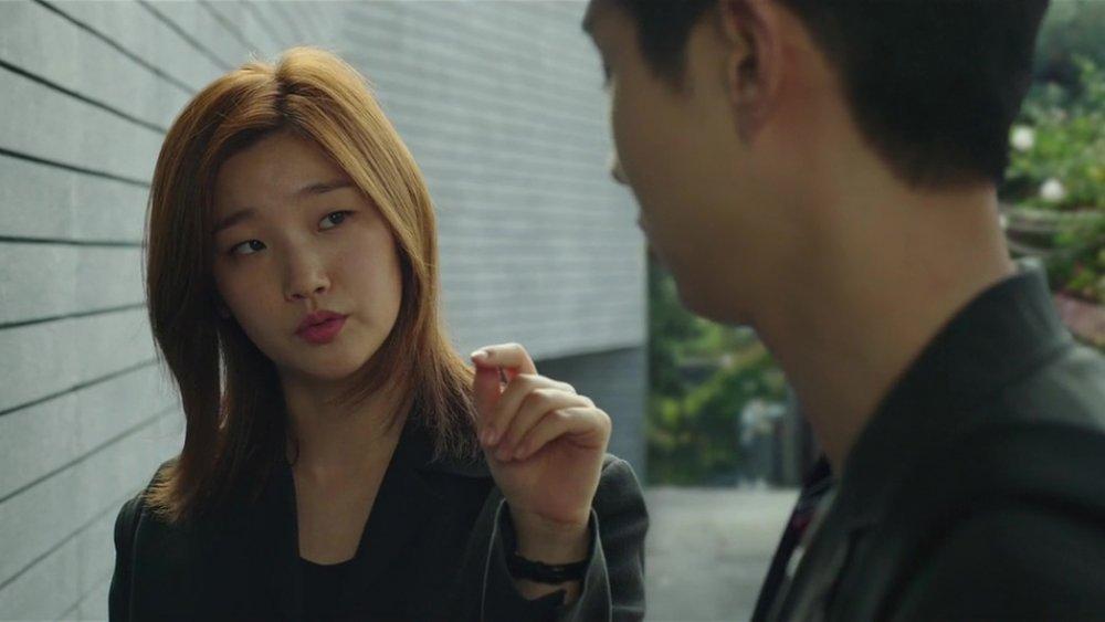 Park So-dam as Kim Ki-jung in Parasite