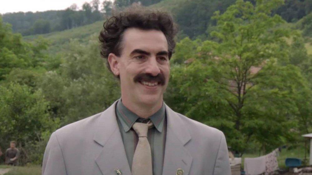 Sacha Baron Cohen stars as the titular character in Borat 2