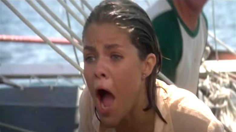 Jackie screaming