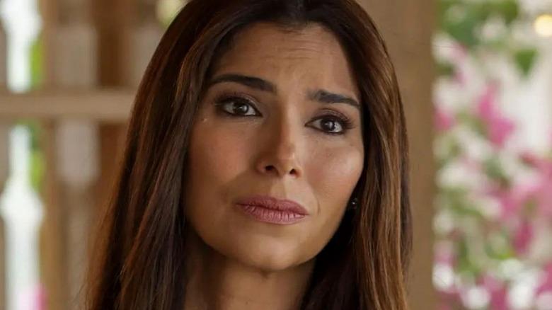Roselyn Sanchez looking concerned