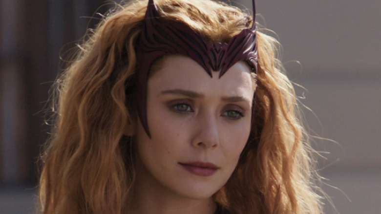 Closeup on Scarlet Witch