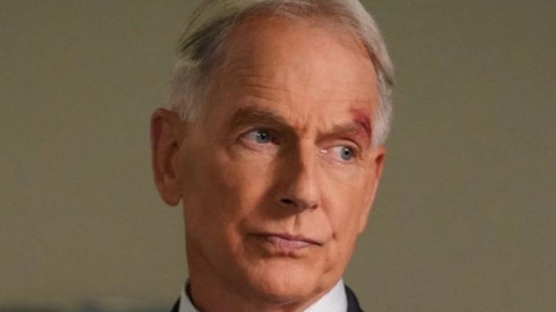Gibbs slightly annoyed on NCIS