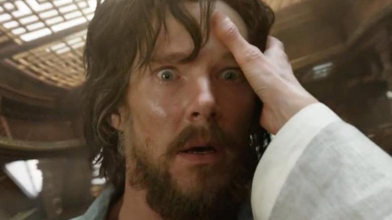 Benedict Cumberbatch Stephen Strange surprised