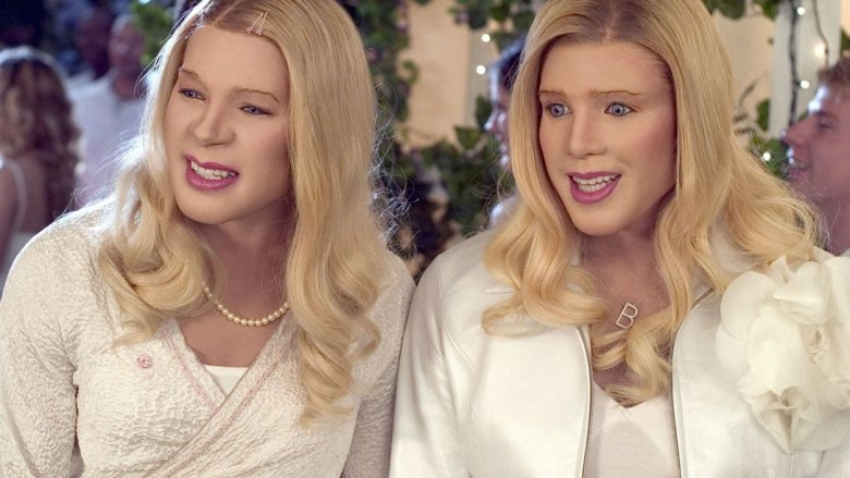 Marlon and Shawn Wayans in White Chicks