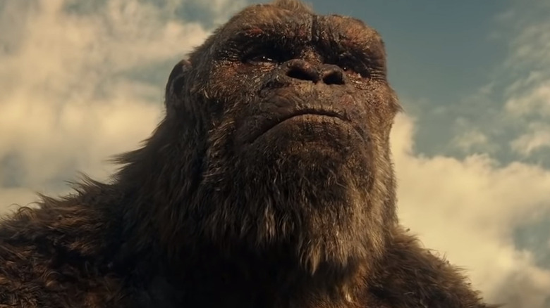 King Kong determined clenched jaw