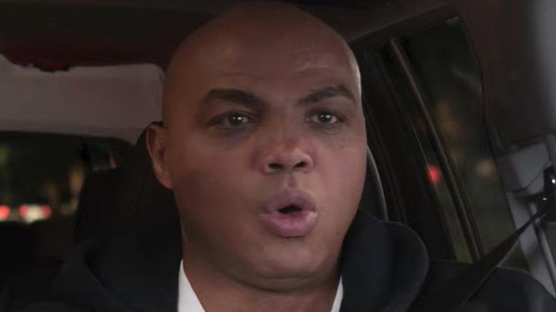 Charles Barkley driving