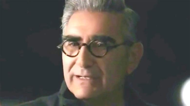 Eugene Levy wearing glasses