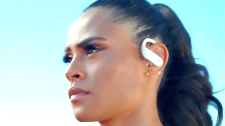 Sydney McLaughlin wireless headphones