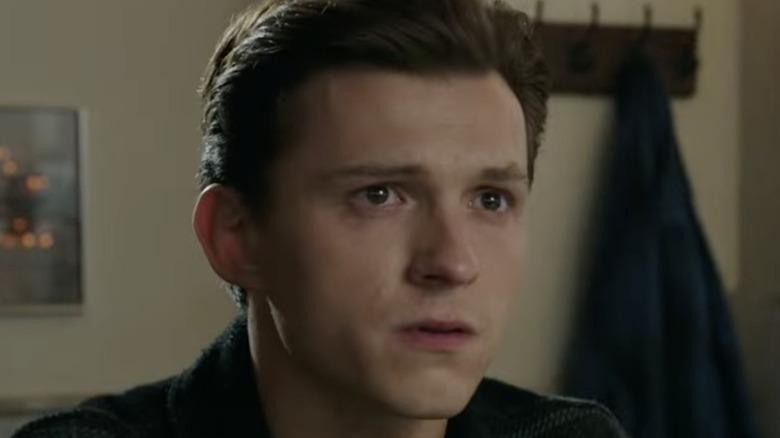 Peter Parker sad