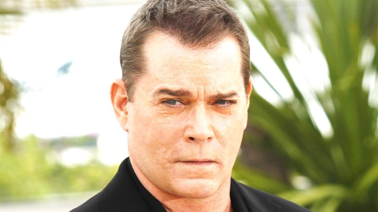Ray Liotta looking serious