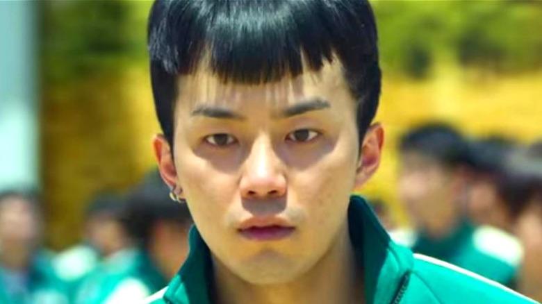 Park Ji-Hoon looking intense