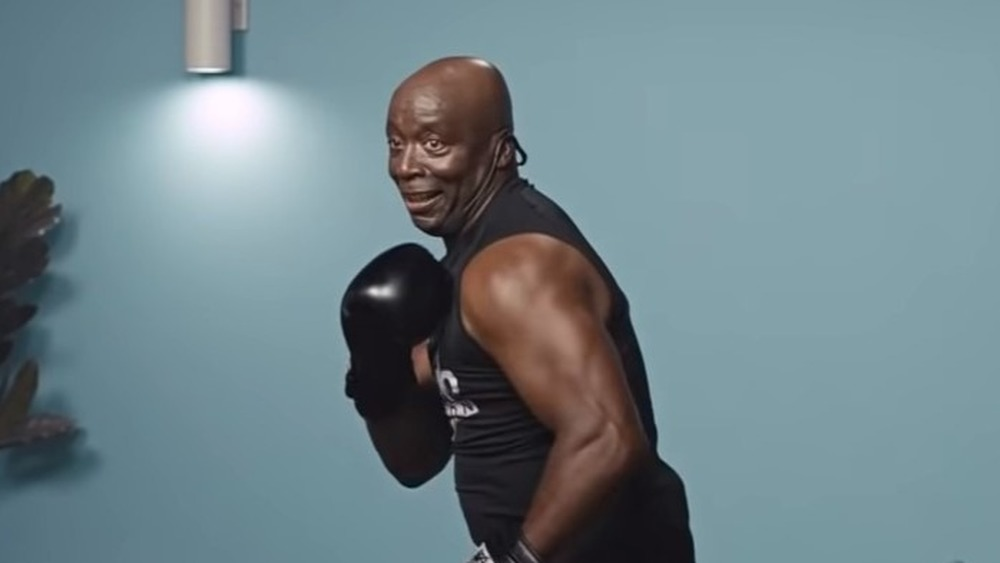 Billy Blanks boxing