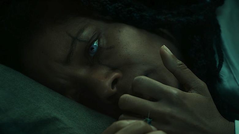 "Naomie Harris as Shriek in ""Venom: Let There Be Carnage"""