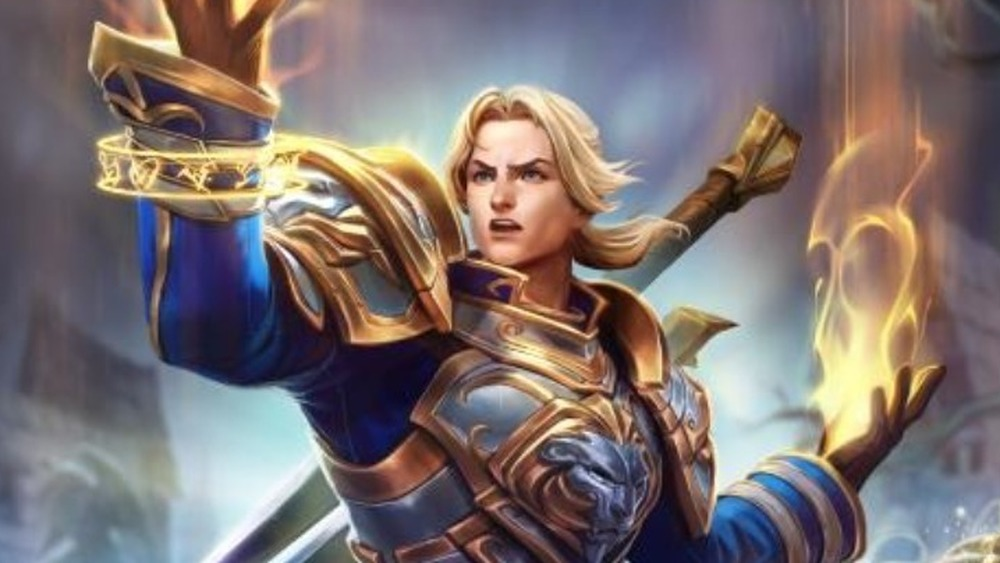 Anduin flames