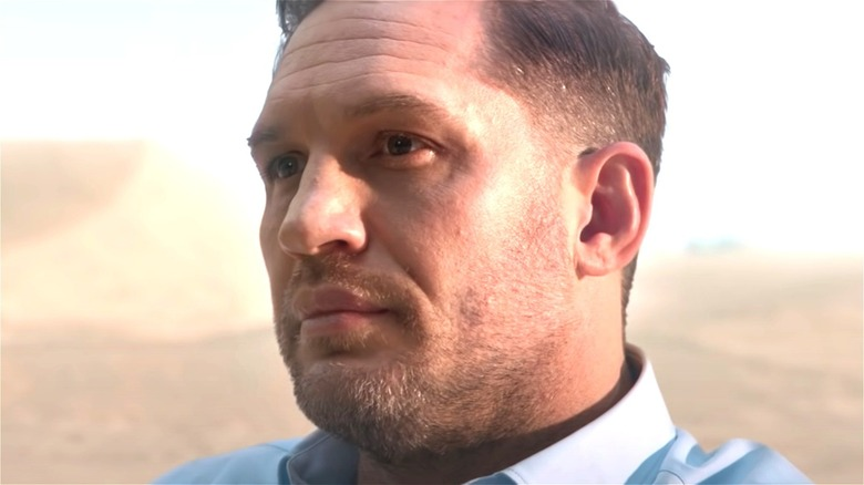Tom Hardy in the Audi e-tron GT ad