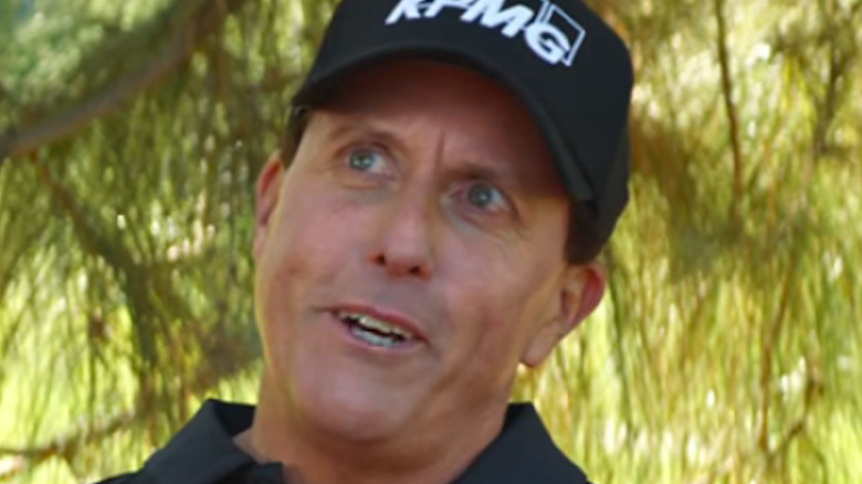 Phil Mickelson black polo shirt Amstel Light commercial