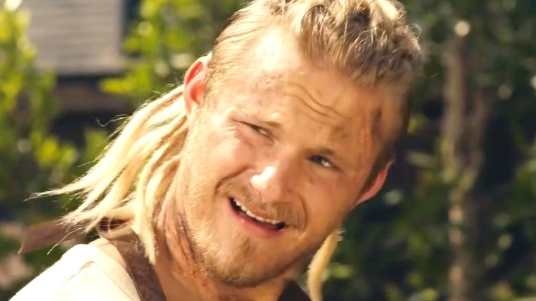 Alexander Ludwig smiling