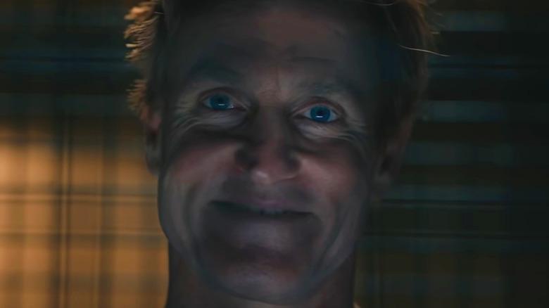 Woody Harrelson Cletus Kasady grinning