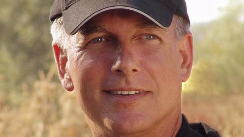 A close up of Leroy Jethro Gibbs from NCIS