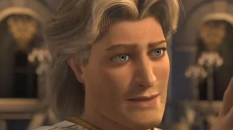 Prince Charming glaring in Shrek 2