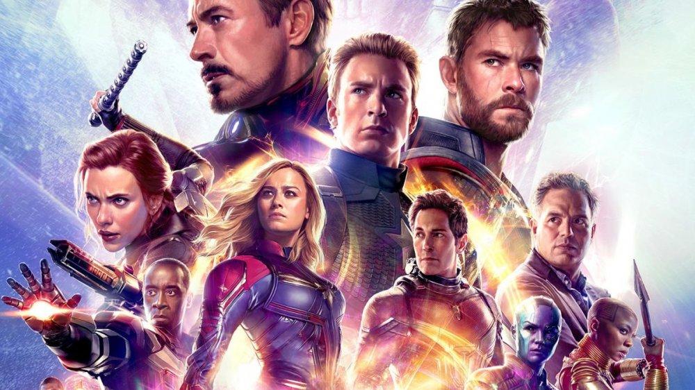 Avengers; Endgame promo poster