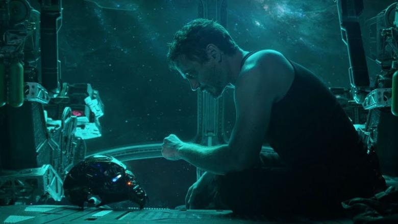 Tony Stark in the Avengers: Endgame trailer