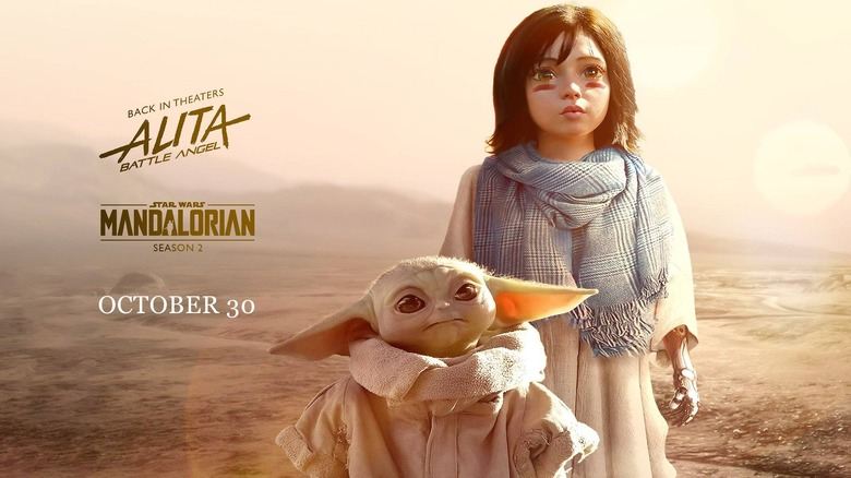 Baby Yoda and Baby Alita are together at last in a post from director Robert Rodriguez