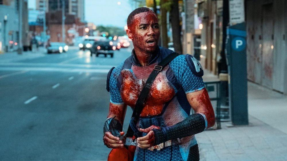 Jessie Usher as A-Train in The Boys