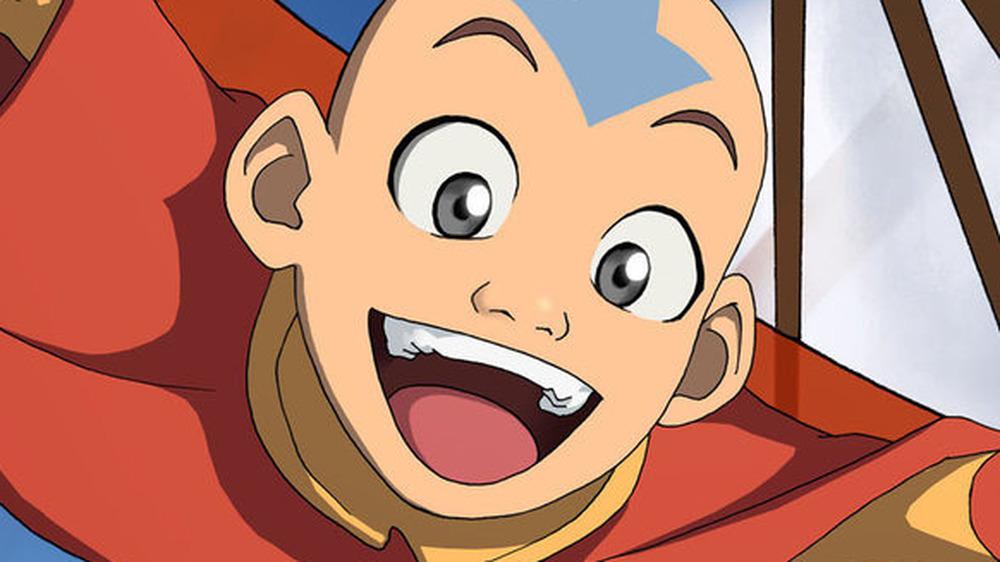 Avatar Aang smiling