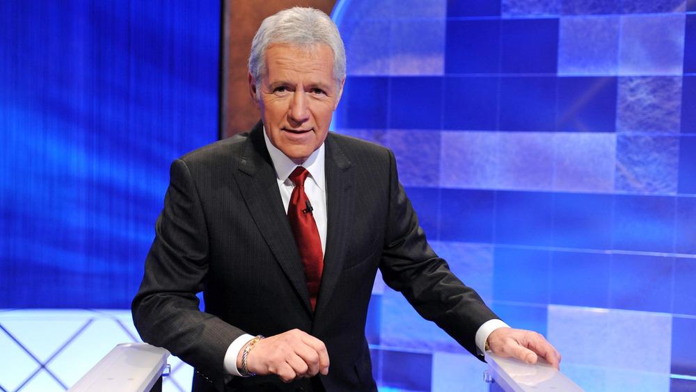 Alex Trebek as host of Jeopardy