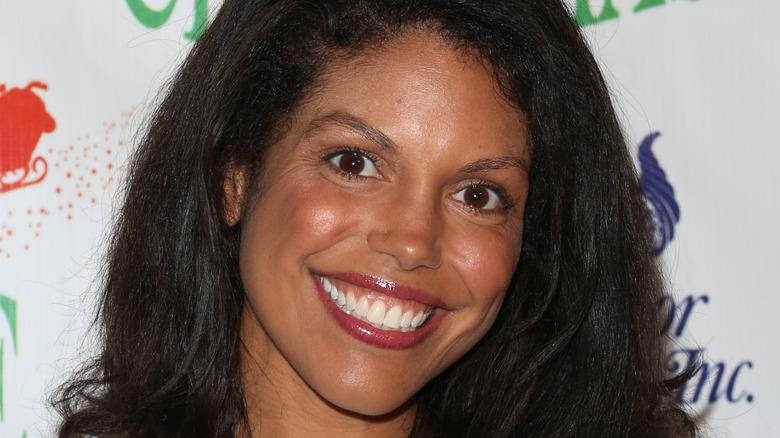 Karla Mosley smiling