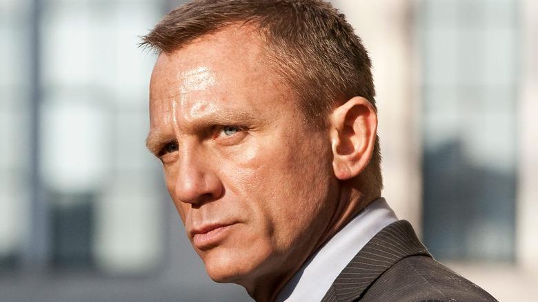 James Bond in suit