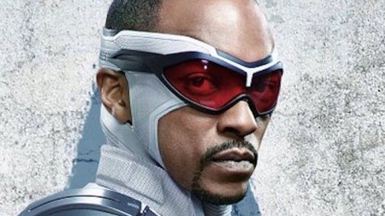 Anthony Mackie as the new Cap
